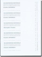 bilete Conferinta
