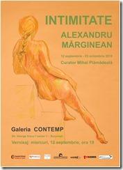 Afis Alexandru Marginean CONTEMP